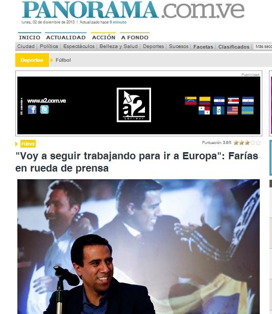 Panorama periódico del Zulia.