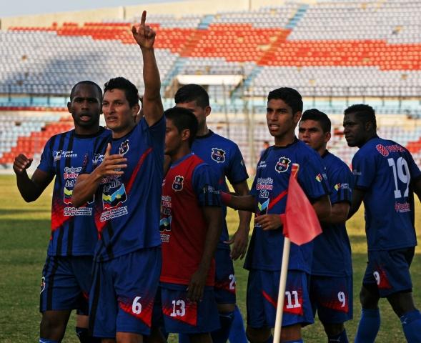 Zulia FC triunfó en la fecha pasada con profesionales en cancha. Foto: Prensa Zulia FC