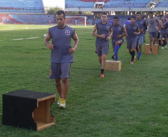Zulia FC aprovechó una semana sin partido para reacondicionamiento físico. Foto: Prensa Zulia FC.