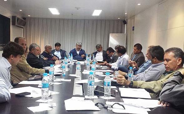 Los equipos se reunieron con la directiva de la Liga. Foto: Lvbp