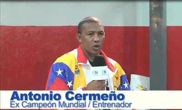 Cermeño era entrenador y trabajaba con Mindeporte.