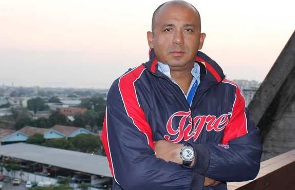 Carlos Guillén ex grandeliga y es presidente del Instituto de Deportes de Aragua. Foto: Gobernación de Aragua