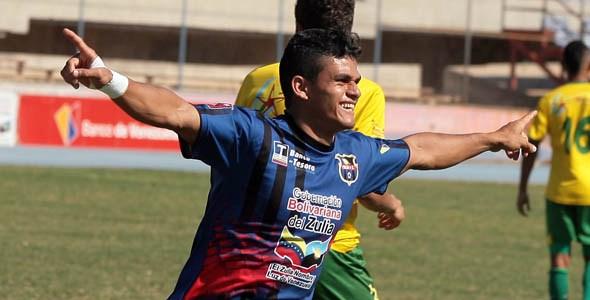 Herlyn Cuica está enrachado y volvió a marcar para Zulia FC. Foto: La Verdad
