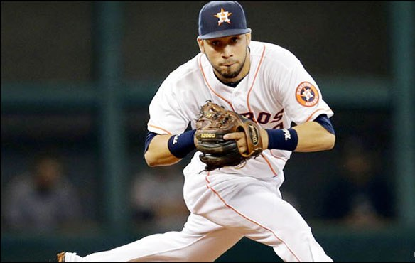 Marwin González destacó su versatilidad para quedarse con Houston.