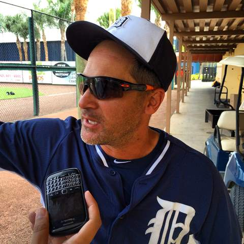 Vizquel alabó el liderazgo de Cabrera en Detroit.