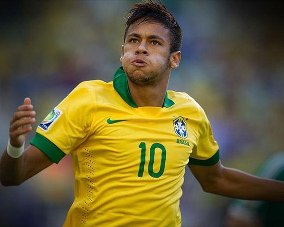 Neymar es un fijo en el equipo brasileño.