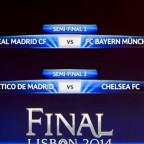 Semifinales de infarto en Europa