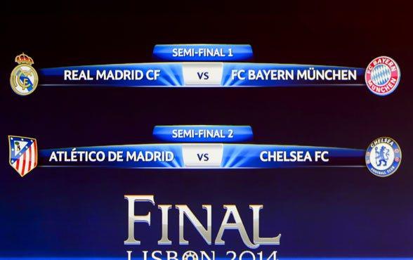 Los cruces de la Champions dejan viva una posible final madrileña.