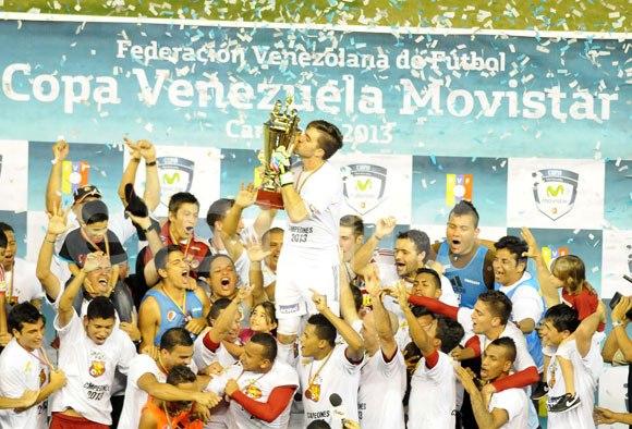 Los rojos están en el sorteo tras ganar la Copa Venezuela.
