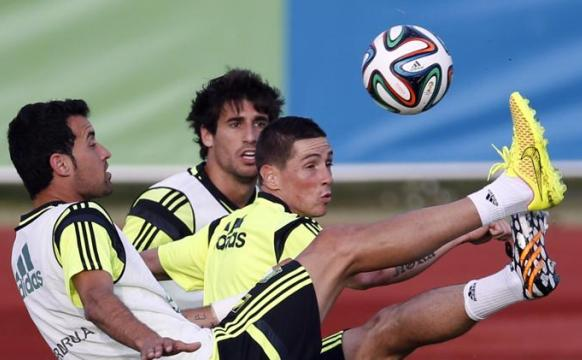 España trabaja con fuerza para llegar a punto al Mundial.