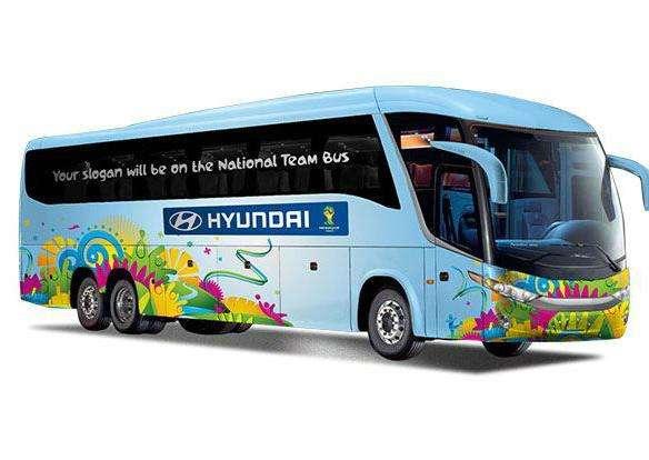 Cada selección tendrá su bus personalizado.