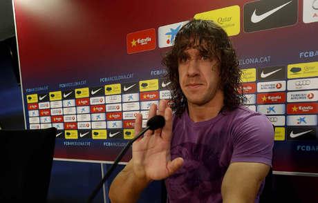 El central se retira luego de 12 años siendo figura  catalana y de la selección.