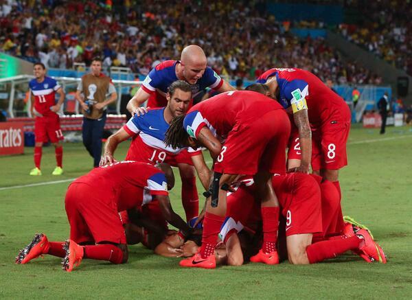 El equipo de Klinsmann marco el gol mas rápido del mundial con 32 segundos.