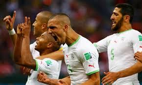Los argelinos lograron conseguir el milagro de tener un cupo para octavos.