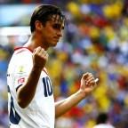 Costa Rica sorprendió a Italia
