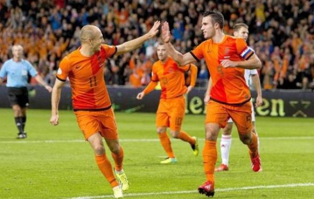 Robben se creo dos jugadas para mantener viva las esperanzas holandesas.