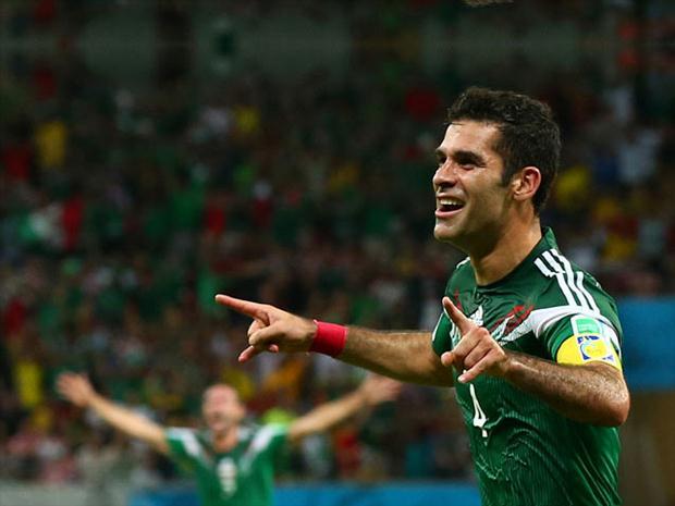 El kaiser mexicano abrió el marcador para sentenciar el juego.