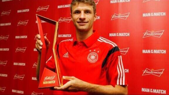 Tomas Muller volvio a darle el gol de la victoria a los teutones.