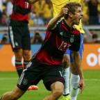 Sinfonía alemana goleó a Brasil