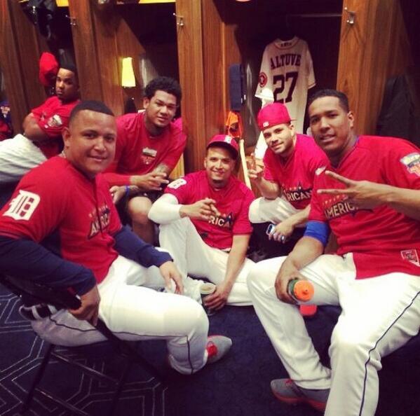 La legión venezolana disfrutan la pausa de las grandes ligas.
