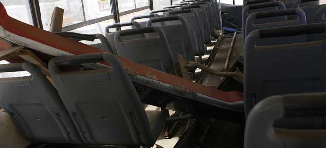 Solo un bus sirve para las 40 asociaciones deportivas del estado.