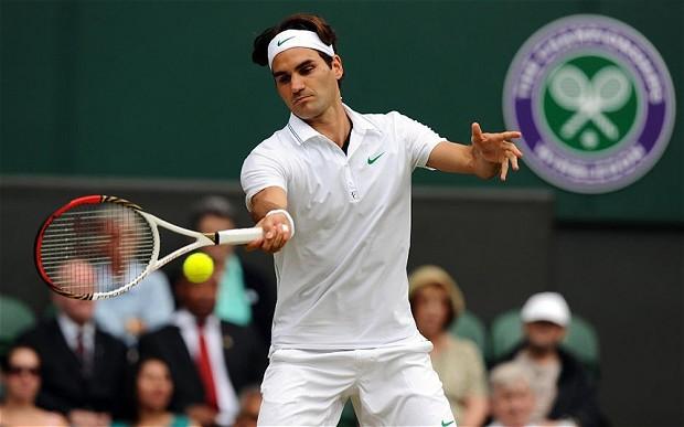Roger Federer, a dos victorias de su octavo título en el All England.
