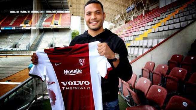 el venezolano firmó por tres años con el club frances.