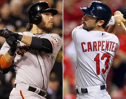 Crawford y Carpenter en un duelo por la Nacional.