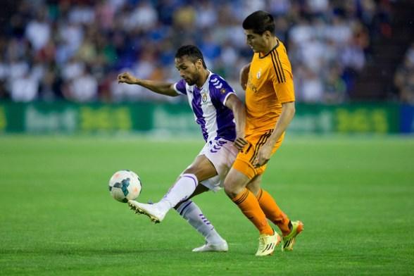 Jefrren Suárez ahora en el Valladolid espera ir a la selección.