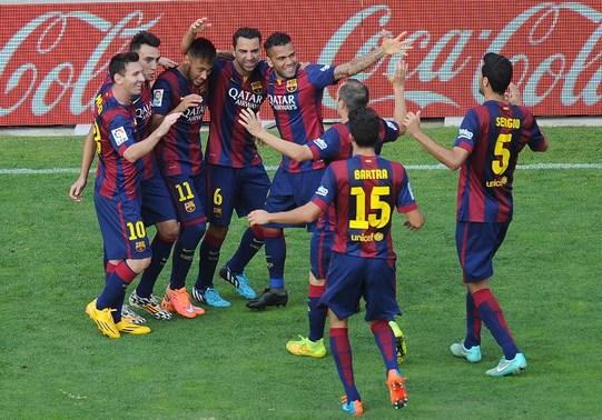 Barcelona volvió al triunfo en la Liga.