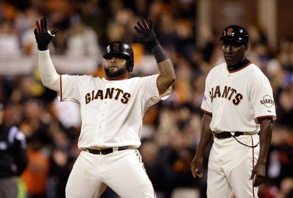 Sandoval volvió a ser determinante para los Gigantes.