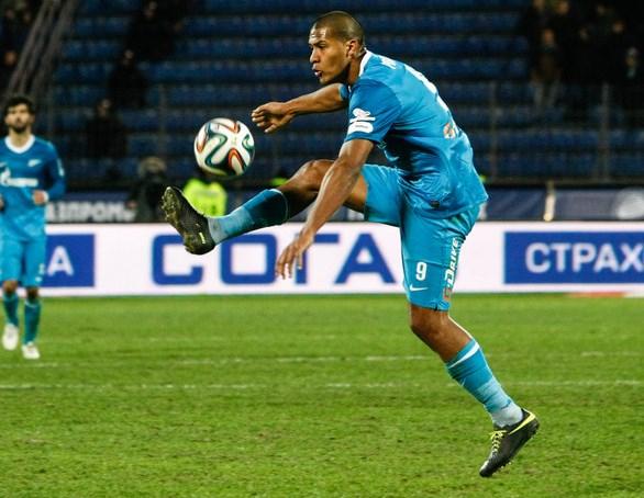 Salomón Rondón brilla en el Zenit ruso.