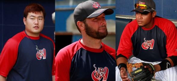 Tres nuevos jugadores se unieron a los aragüeños.