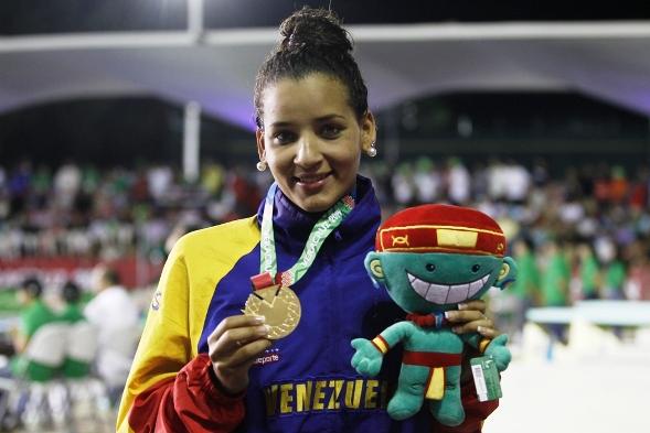 Pinto brilló por la natación venezolana.