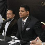 """Paúl Romero, conocido como el """"Coronel"""", ya estuvo en representación de Gaiteros con Bob Abreu, nuevo presidente de la LPB."""