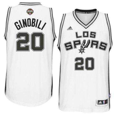 Los Spurs usarán esta camiseta diseñada por Adidas.