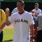 Martín Prado contento en Miami